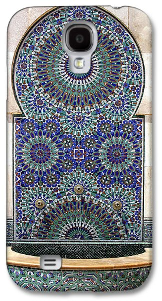 Holy Water Fountain Hassan II Mosque Sour Jdid Casablanca Morocco  Galaxy S4 Case by Ralph A  Ledergerber-Photography