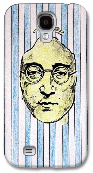 Ringo Galaxy S4 Cases - Homage To John Lennon  Galaxy S4 Case by John  Nolan
