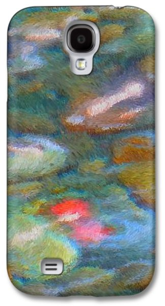 Nature Abstract Galaxy S4 Cases - Homage to Van Gogh 1 Galaxy S4 Case by Carol Groenen