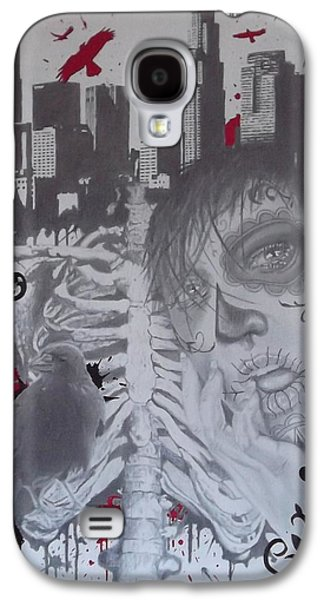 Mix Medium Drawings Galaxy S4 Cases - Home Galaxy S4 Case by Asev One