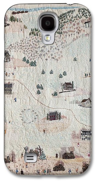 Americans Tapestries - Textiles Galaxy S4 Cases - Home at Valley Forge Galaxy S4 Case by Lois Charles