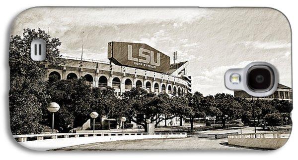 Louisiana State University Photographs Galaxy S4 Cases - Home Field Advantage Galaxy S4 Case by Scott Pellegrin