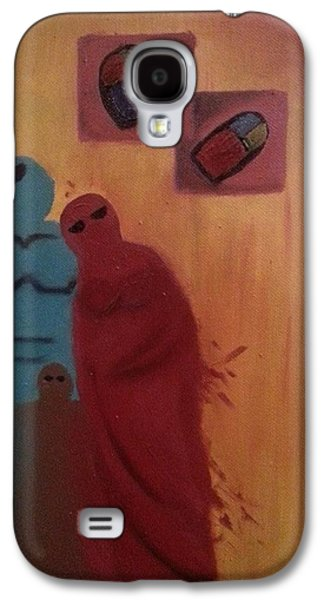 Baghdad Paintings Galaxy S4 Cases - Home Galaxy S4 Case by Hend Al-Rijab