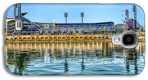 Pennsylvania Baseball Parks Galaxy S4 Cases - Home of the Pirates Galaxy S4 Case by Mountain Dreams