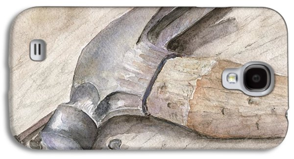 Hammer Paintings Galaxy S4 Cases - Home Project Galaxy S4 Case by Bev Veals