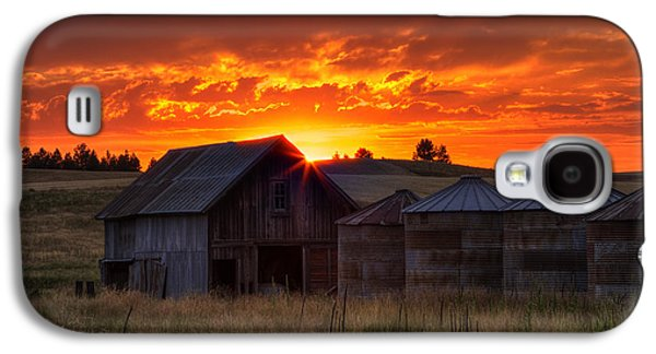 Silos Galaxy S4 Cases - Home Sweet Home Galaxy S4 Case by Mark Kiver