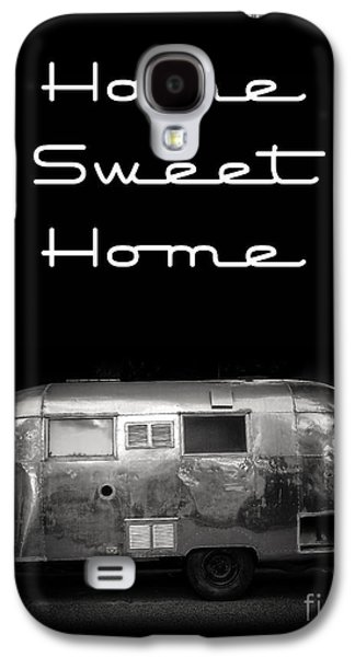Recreation Photographs Galaxy S4 Cases - Home Sweet Home Vintage Airstream Galaxy S4 Case by Edward Fielding