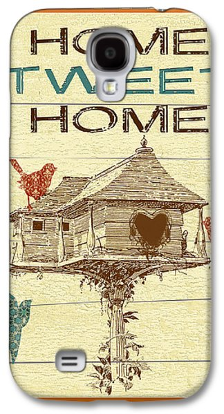 Folkloric Galaxy S4 Cases - Home Tweet Home Galaxy S4 Case by Jean Plout
