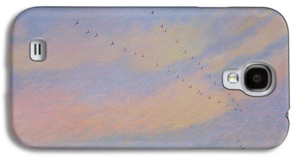 Swallow Galaxy S4 Cases - Homeward, 2004 Oil On Canvas Galaxy S4 Case by Ann Brain