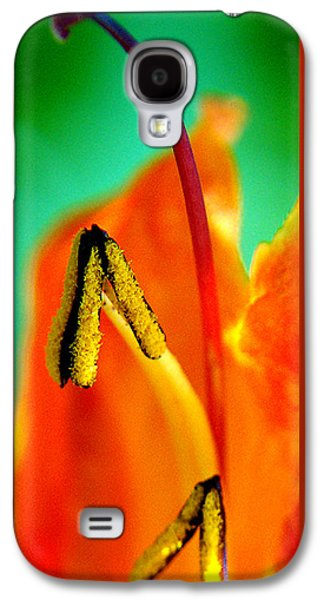Abstract Nature Galaxy S4 Cases - Honeysuckle Spectacular Galaxy S4 Case by Ben and Raisa Gertsberg