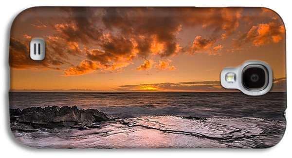 Top Seller Galaxy S4 Cases - Honolulu sunset at Koolina Resort Galaxy S4 Case by Tin Lung Chao