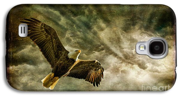 Honor Bound In Blue Galaxy S4 Case by Lois Bryan