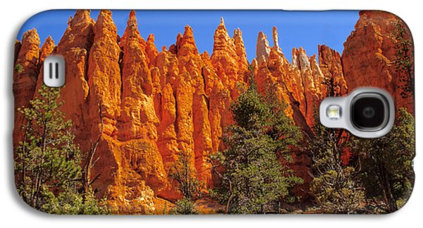 Recently Sold -  - Haybale Galaxy S4 Cases - Hoodoos Along the Trail Galaxy S4 Case by Robert Bales