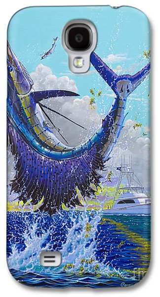 Wahoo Galaxy S4 Cases - Hooked Up Off004 Galaxy S4 Case by Carey Chen
