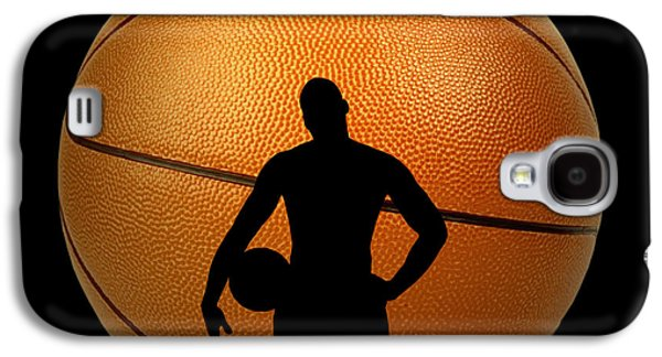 Larry Bird Galaxy S4 Cases - Hoop Dreams Galaxy S4 Case by Cheryl Young