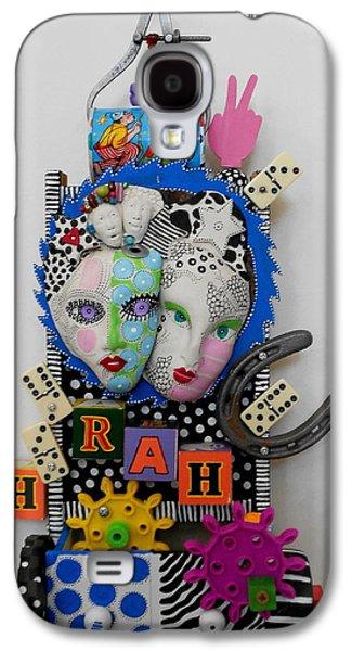Original Sculptures Galaxy S4 Cases - Hoorah For Everything Galaxy S4 Case by Keri Joy Colestock