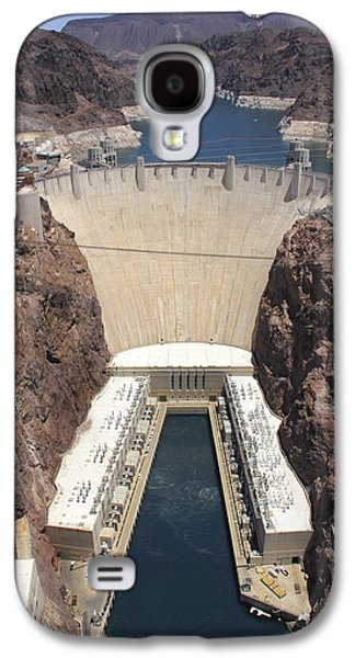 Power Plants Galaxy S4 Cases - Hoover Dam Galaxy S4 Case by Mike McGlothlen