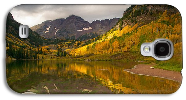 Reflection Of Sun In Clouds Galaxy S4 Cases - Hope and Despair  Galaxy S4 Case by Aaron Spong