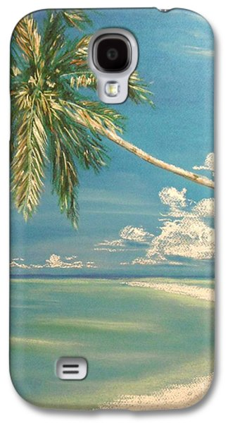 Beach Landscape Pastels Galaxy S4 Cases - Hope Bay Galaxy S4 Case by The Beach  Dreamer