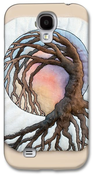 Tree Roots Tapestries - Textiles Galaxy S4 Cases - Hope Galaxy S4 Case by Darlene Weaver