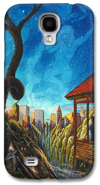 Constellations Paintings Galaxy S4 Cases - Hope Galaxy S4 Case by Matt Konar