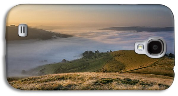 Temperature Inversion Galaxy S4 Cases - Hope Valley Autumn Mist Galaxy S4 Case by Steve Tucker