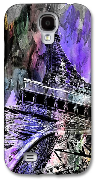 Structures Galaxy S4 Cases - Hopeless Romantic Galaxy S4 Case by Az Jackson