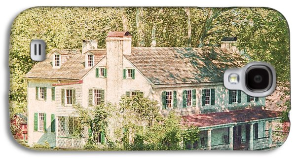Ancient Galaxy S4 Cases - Hopewell Furnace in Pennsylvania Galaxy S4 Case by Olivier Le Queinec