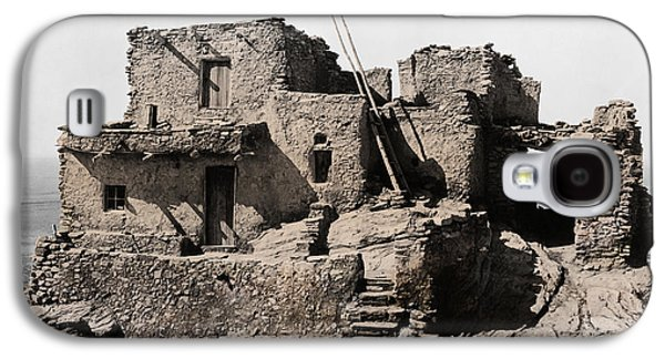 Hopi Galaxy S4 Cases - Hopi Hilltop Indian Dwelling 1920 Galaxy S4 Case by Daniel Hagerman
