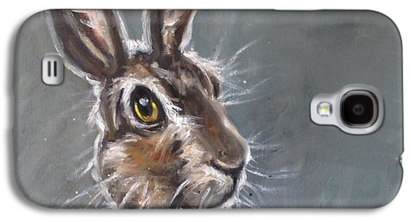 March Hare Galaxy S4 Cases - Horatio Hare Galaxy S4 Case by Louise  Brown