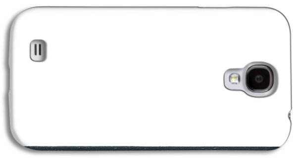 Ocean Of Emptiness Galaxy S4 Cases - Horizon White Galaxy S4 Case by Jeff Kauffman