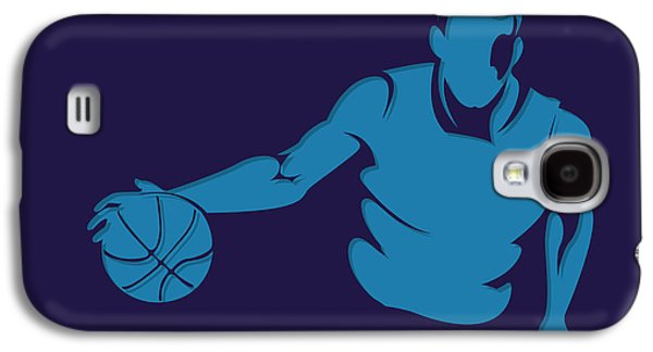 Charlotte Photographs Galaxy S4 Cases - Hornets Shadow Player1 Galaxy S4 Case by Joe Hamilton