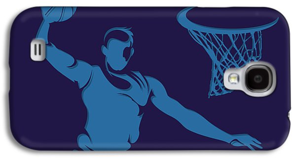 Charlotte Photographs Galaxy S4 Cases - Hornets Shadow Player2 Galaxy S4 Case by Joe Hamilton