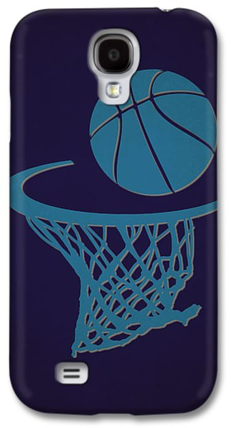 Charlotte Photographs Galaxy S4 Cases - Hornets Team Hoop2 Galaxy S4 Case by Joe Hamilton