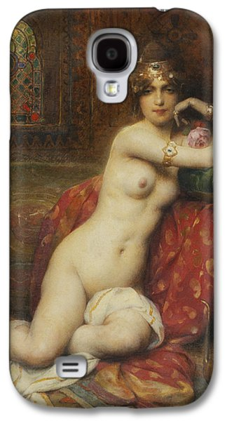 Busts Galaxy S4 Cases - Hors Concours Femme dOrient Galaxy S4 Case by Henri Adrien Tanoux