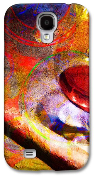 Quiet Time Galaxy S4 Cases - Hors d Age Cognac And Stogie Galaxy S4 Case by Wingsdomain Art and Photography