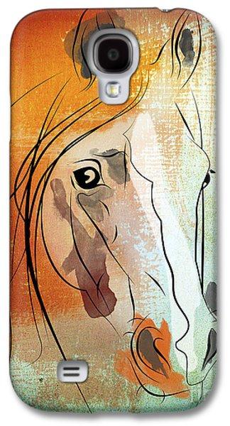 Horse 3 Galaxy S4 Case by Mark Ashkenazi