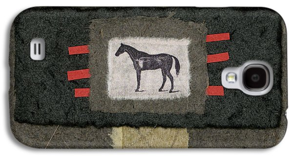 Torn Galaxy S4 Cases - Horse Collage Galaxy S4 Case by Carol Leigh