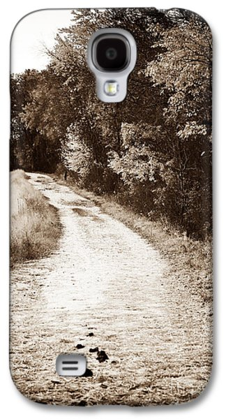 Pine Barrens Galaxy S4 Cases - Horse Trail Galaxy S4 Case by John Rizzuto