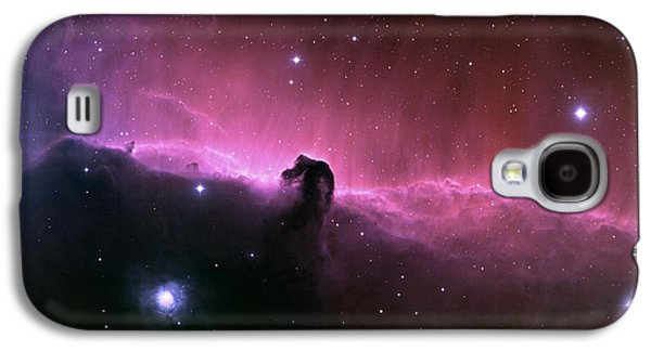 Space Paintings Galaxy S4 Cases - horsehead nebula IC434 Galaxy S4 Case by Celestial Images