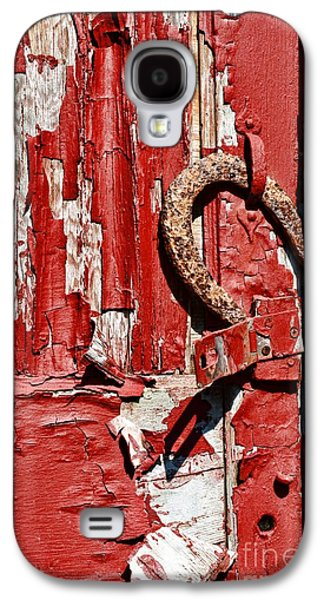 Makeshift Galaxy S4 Cases - Horseshoe Door Handle Galaxy S4 Case by Paul Ward