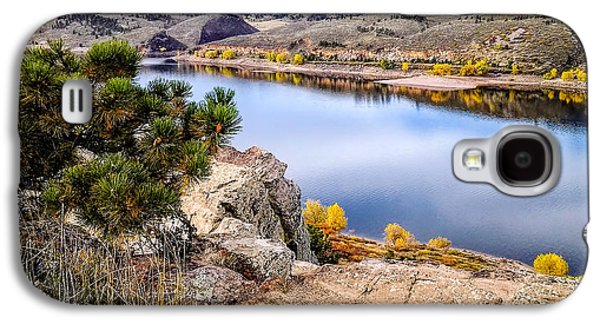 Horsetooth Galaxy S4 Cases - Horsetooth Autumn Galaxy S4 Case by Jon Burch Photography