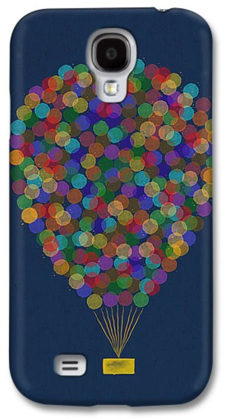 Hot Air Balloon Galaxy S4 Cases - Hot air balloon Galaxy S4 Case by Aged Pixel
