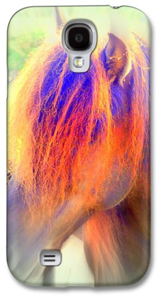 Implication Photographs Galaxy S4 Cases - Hot Horse Galaxy S4 Case by Hilde Widerberg