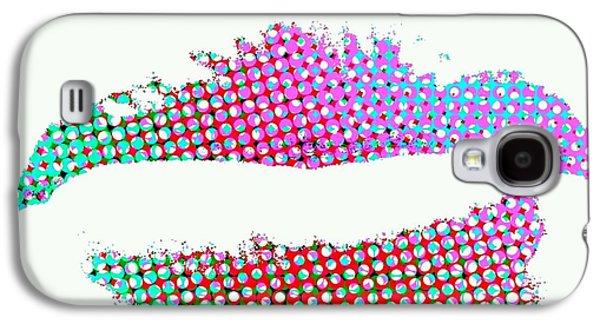 Etc. Digital Art Galaxy S4 Cases - Hot Lips BB Galaxy S4 Case by James Eye