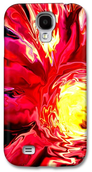 Original Art Photographs Galaxy S4 Cases - Flaming Mum Galaxy S4 Case by Gardening Perfection