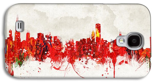 The Church Mixed Media Galaxy S4 Cases - Hot summer day in Chicago Galaxy S4 Case by Aged Pixel