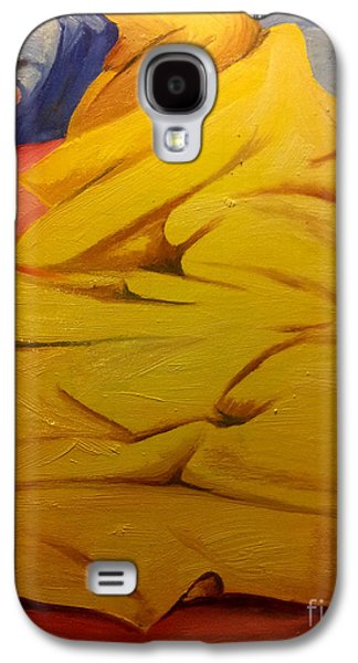Comfort Paintings Galaxy S4 Cases - Hot Summer Night Galaxy S4 Case by I F Abbie Shores
