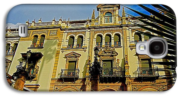 Spanien Galaxy S4 Cases - Hotel Alfonso XIII - Seville Galaxy S4 Case by Juergen Weiss