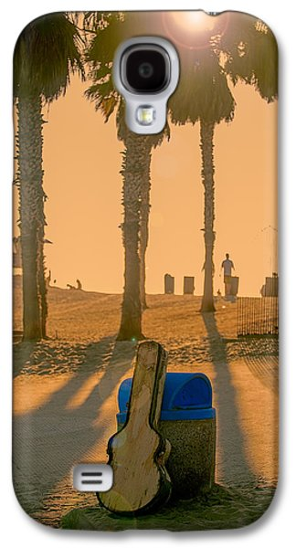 Beach Landscape Galaxy S4 Cases - Hotel California Galaxy S4 Case by Peter Tellone